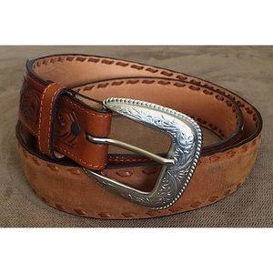 🆕 3D Belt Co. Men's Genuine Leather Western Belt